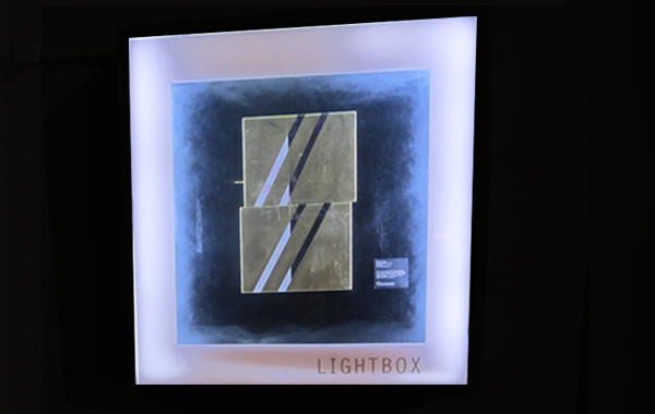 lightbox lit up at night artwork by don smith