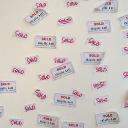 Record of a successful Art Sale, 2005.