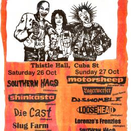 Punk poster, 1990s.