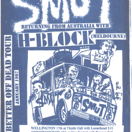 SMUT poster, 1997.
