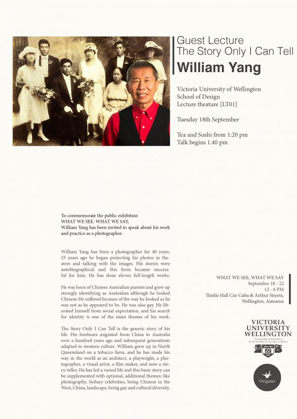 william yang lecture