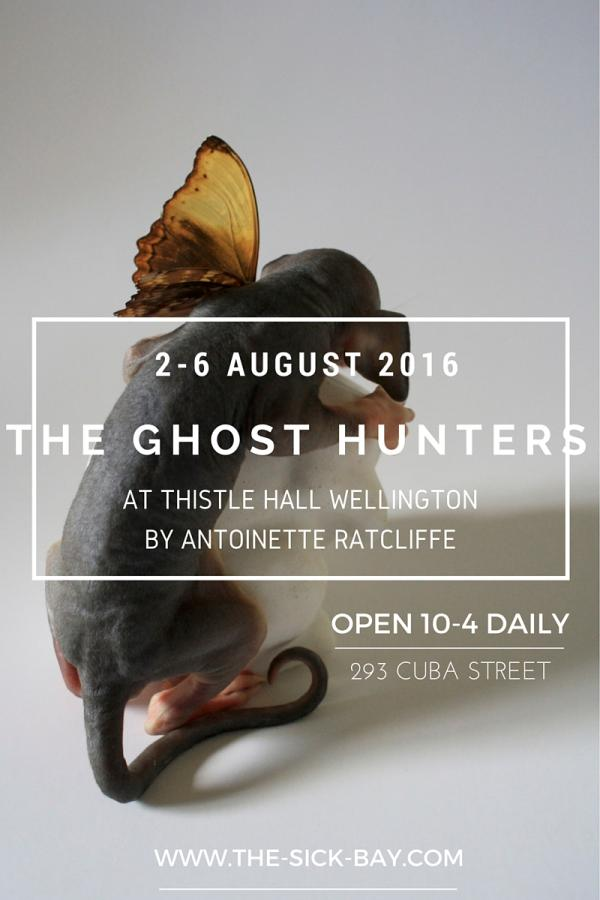 Poster for ANTOINETTE RATCLIFFE's show GHOST HUNTERS