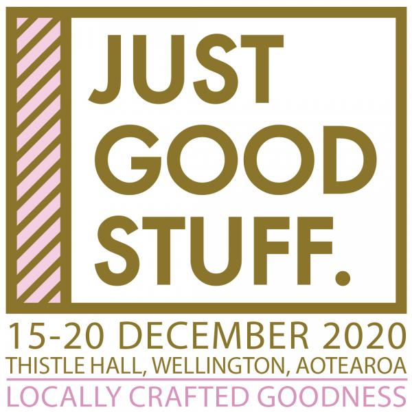 poster for just good stuff exhibition