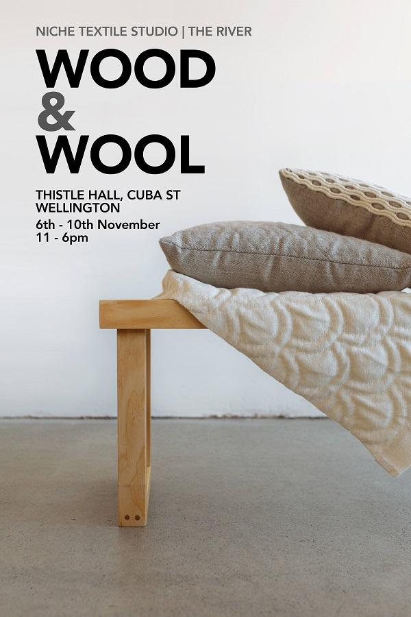 wood&wool poster