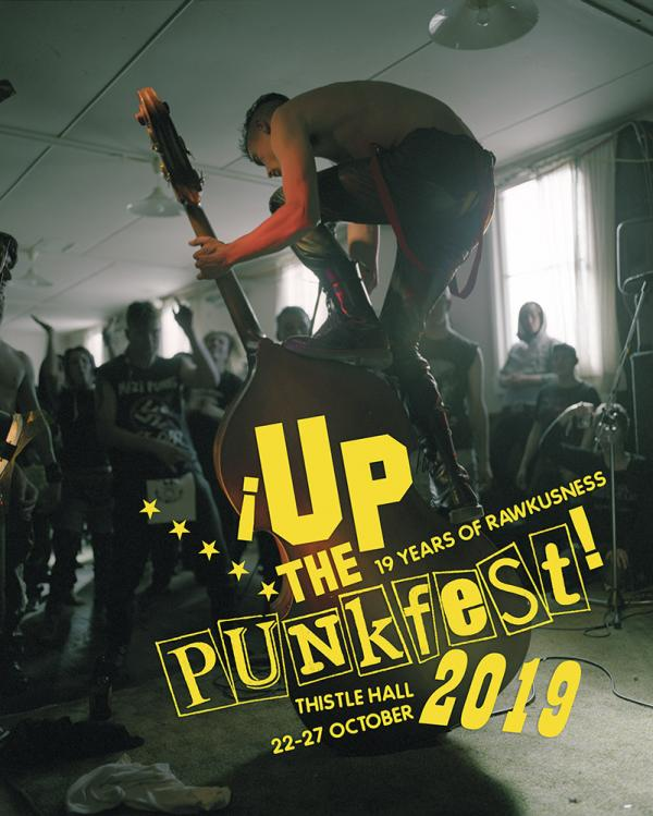 poster - up the punkfest