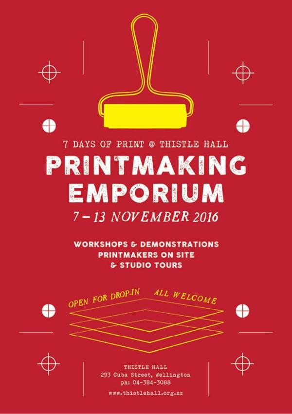 poster for printmaking emporium